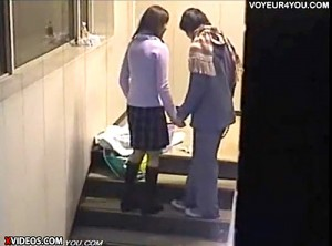 【 盗撮動画 】放課後の学校で隠れてSEXする学生カップルを完全盗撮wwwww