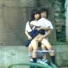 【 盗撮動画 】学年1可愛いJKが学校サボって野外SEXする姿をリアル盗撮wwwww