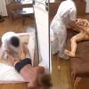 【 盗撮動画 】自宅出張マッサージで旦那の死角でレイプされる巨乳妻…犯されてる姿に興奮する旦那www※閲覧注意