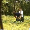 【 盗撮動画 】田舎の学生カップルが森の中で野外SEXする痴態を盗撮したったwww
