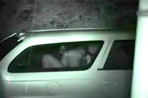 【 盗撮動画 】盗撮犯がカーセックススポットに待ち伏せ⇒赤外線盗撮したリアル映像GETだぜwwwww