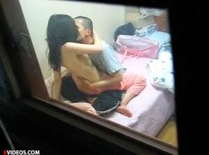 【 盗撮動画 】隣に住む若いカップルのエッチな日常をご覧下さい。※盗撮犯からの投稿