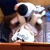 【 盗撮動画 】ネットカフェのペアシートで素人カップルの痴態を暴露した衝撃映像www※防犯カメラ盗撮
