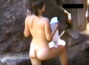 【 盗撮動画 】男なら一度は見てみたいwww女露天風呂の覗き見盗撮した噂の本●映像!!!