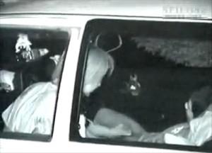 【 盗撮動画 】兵庫県の有名カーセックススポットで素人カップルを赤外線盗撮したリアル映像wwwww