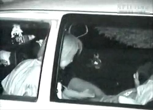 【盗撮動画】兵庫県の有名カーセックススポットで素人カップルを赤外線盗撮したリアル映像wwwww