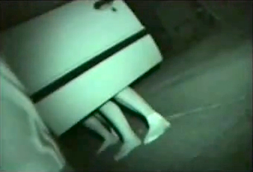 【盗撮動画】車のドアを開けて野外カーセックスする素人バカップルを赤外線盗撮wwwww