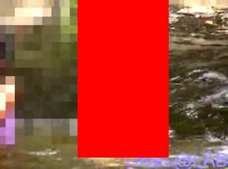 【 閲覧注意 】ロ●コン野郎は削除される前に見て下さい。※川遊び盗撮動画