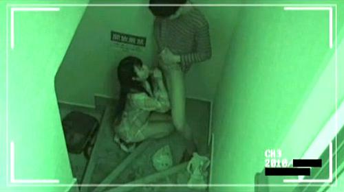 【 閲 覧 注 意 】 雑 居 ビ ル の 非 常 階 段 に あ る 防 犯 カ メ ラ は 見 た 。