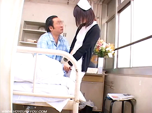 ( 秘密撮影ムービー )ドすけべ入院患者が仕事中のナアスをガチ口説いてみた結果…※結果はムービーをご覧下さい。