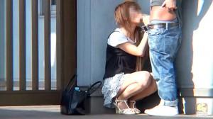 【 盗撮動画 】白昼堂々!!野外SEXする素人バカップルを覗き見盗撮したリアル映像wwwww