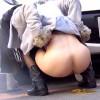 【 盗撮動画 】便意を我慢できず野外でビチャビチャ排泄する女性を完全盗撮!!!※グロ閲覧注意