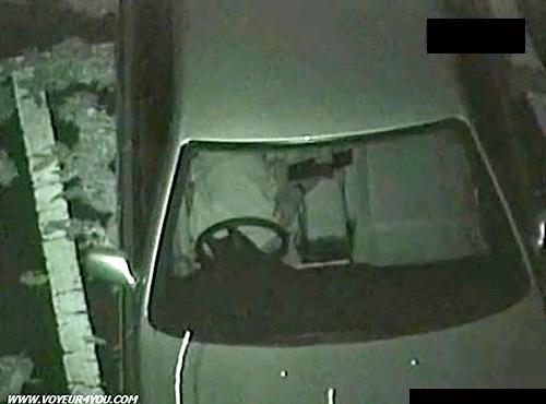 【 盗撮動画 】リアル感半端ねぇぞwww深夜の駐車場でカーセックスする素人カップルを発見⇒赤外線盗撮!!!