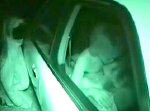 【 盗撮動画 】キャバ嬢がアフターでカーセックスする枕営業を赤外線盗撮したったwwwww
