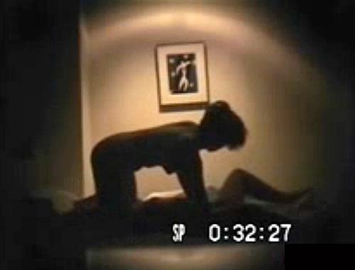 【盗撮動画】熟年夫婦の愛し合うラブホテルSEX盗撮を影絵風でご覧下さいwwwww