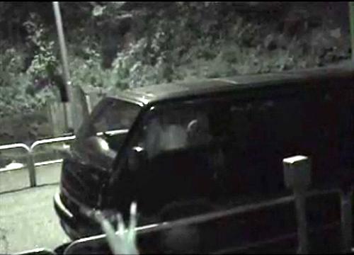 【 盗撮動画 】路上パーキングに駐車してカーセックスする素人バカップルを赤外線盗撮したったwwwww