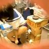 【 盗撮動画 】更衣室でセーラー服に着替える巨乳バイト女子を覗き穴からリアル盗撮wwwww