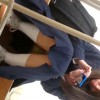【 盗撮動画 】ドスケベ男子生徒が休み時間の教室で同級生JKのパンチラ盗撮した超リアル映像wwwww