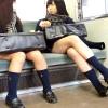 【 盗撮動画 】電車内でミニスカJKを逆さ撮りパンチラ盗撮した画像コレクション映像wwwww