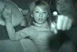 【 盗撮動画 】カーセックスする車に接近して赤外線盗撮したらバレて逃亡した面白映像wwwww