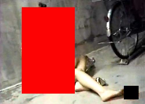 【閲覧注意】夜道ひとり千鳥足で帰る女性の末路※本物レ●プ映像