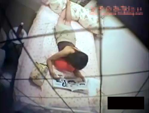 【盗撮動画】向かいマンションでカーテン全開で生活する女性の私生活から性生活まで24時間観察した盗撮映像!!!