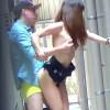 【 盗撮動画 】昼間から路地裏で野外SEXする若いバカッパル激写流出したったwwwww