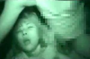 【 閲覧注意 】絶対に見てはいけない地獄絵図…※赤外線車内強●映像!!!