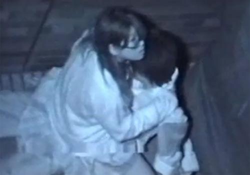 【 隠撮動画 】赤外線カメラで夜中に野外SEXしてる学生カップルを撮影した衝撃映像!!!