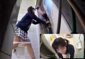 【 盗撮動画 】トイレで放尿中の無防備なJC少女を強姦魔が襲ってガチレイプする衝撃映像!!!