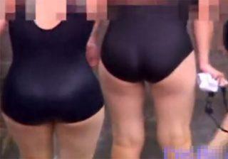【プール盗撮動画】これは本物…女子高の授業を隠し撮りでスク水ロリ少女たちがぐうシコwww