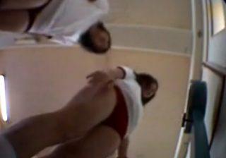 【学校盗撮動画】教室でJC少女達が体操服に着替えて身体測定…変態教師が隠し撮りwww
